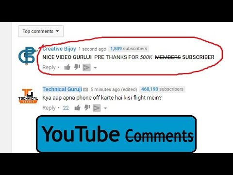 YouTube New Feature Design Your Comments (Bold, Italic, Strikethrough) -- HINDI