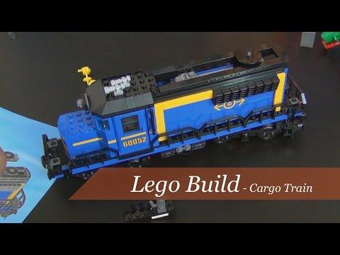 Lego Build - Lego City Cargo Train Set #60052 - Part 2