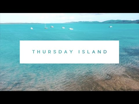 THE BLUEST WATER EVER AT THURSDAY ISLAND