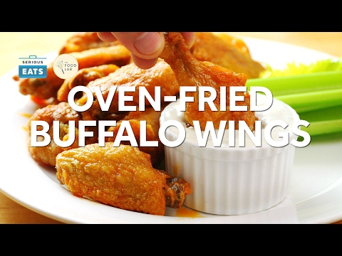How to Make Oven Fried Buffalo Wings