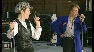 Queen David Bowie Annie Lennox Under Pressure Rehearsals April 1992