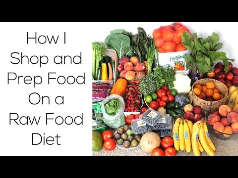 How I Shop & Prep Food On A Raw Food Diet