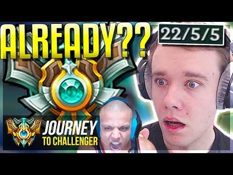 DID I GET MASTERS ALREADY?????? PROMOS END ft. TYLER1 - Journey To Challenger | League of Legends