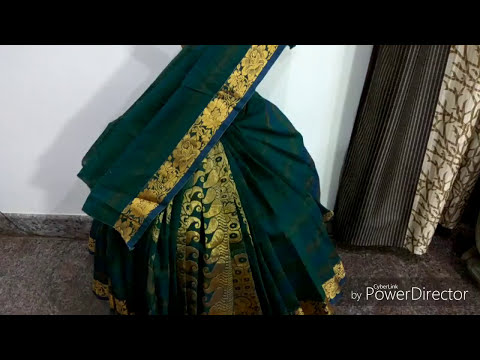 Easy Varamahalakshmi saree drapping