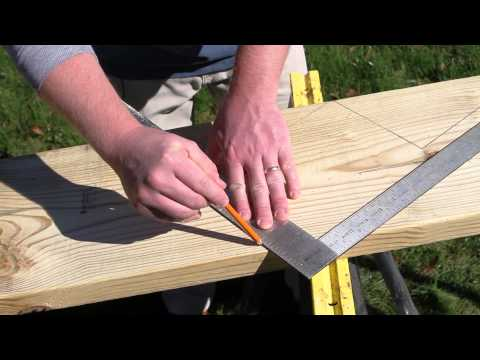 Building Basic Stair Stringers