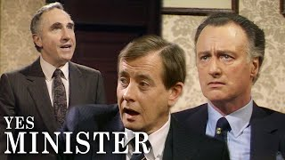 The Minister's New Transport Job Spells Trouble | Yes Minister | BBC Comedy Greats