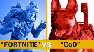 FORTNITE VS CoD - Google Trends Show
