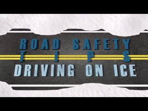 Road Safety Tips - Driving on Icy Roads
