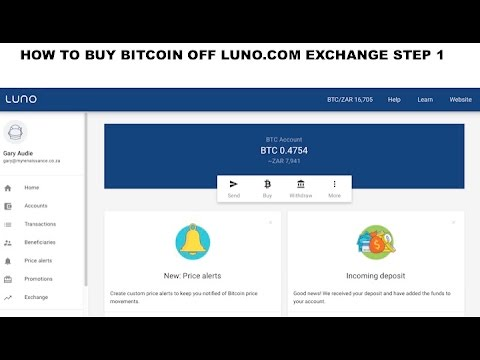 How to buy Bitcoin on Luno.com exchange - STEP 1 Fund your account