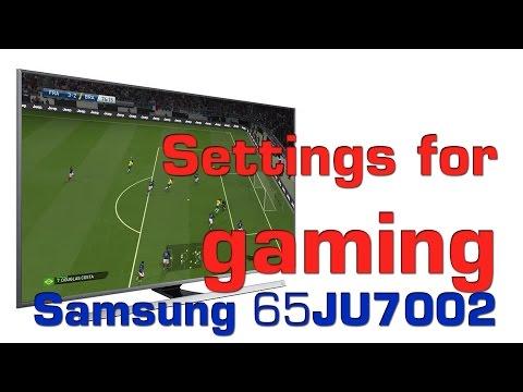 Samsung 65JU7002 UHD TV gaming settings and PC tips