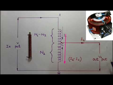 Auto Transformer working principle in Tamil