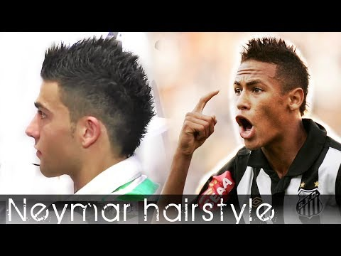 Neymar Inspired Hair Style From Cristiano Ronaldo Haircut | Men's hair Tutorial by Slikhaar TV