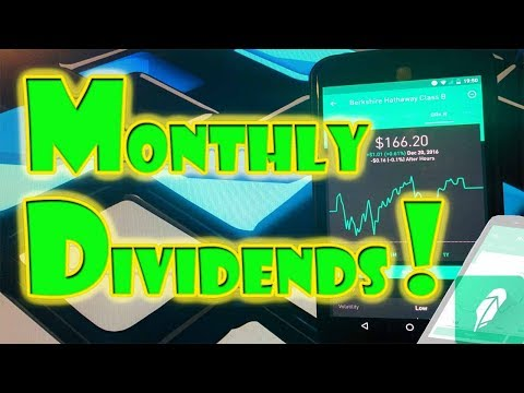GET DIVIDEND PAYMENTS each MONTH! | Stock Market Investing!