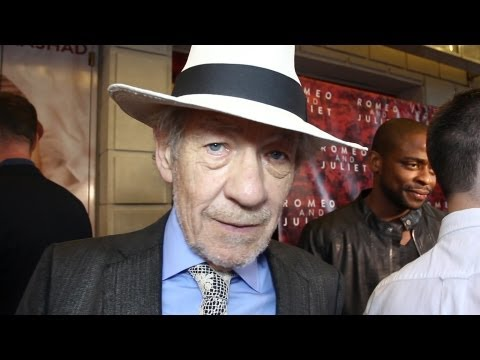 Ian McKellen Gives Romantic Advice at the Opening Night of Broadway's Romeo and Juliet