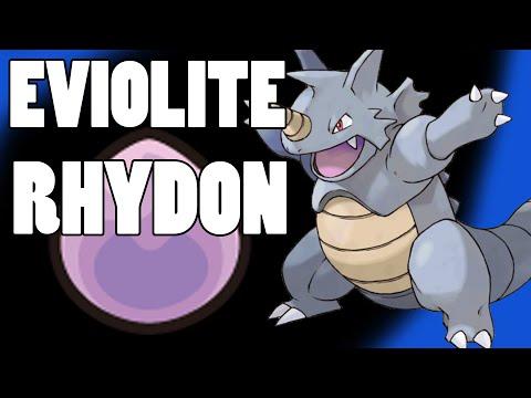Eviolite Rhydon Pokemon Strategy! Weakness Policy Rhyperior