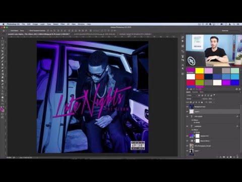 Photoshop Album Art Recreation: Jeremih - Late Nights (The Album)