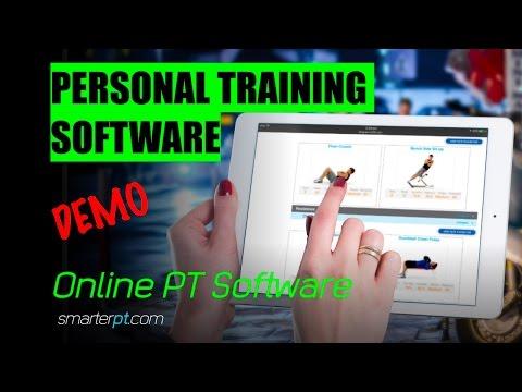 Personal Trainer Software - SmarterPT - Online PT  - Fitness marketing - Personal Trainer - Demo