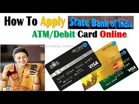 Apply For New ATM/Debit Card Online Without Going Bank | SBI Net Banking |