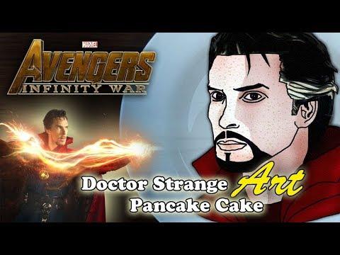Avengers Infinity War | Doctor Strange | Pancake Art - Part 4
