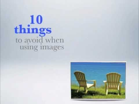 10 Things To Avoid When Using Images