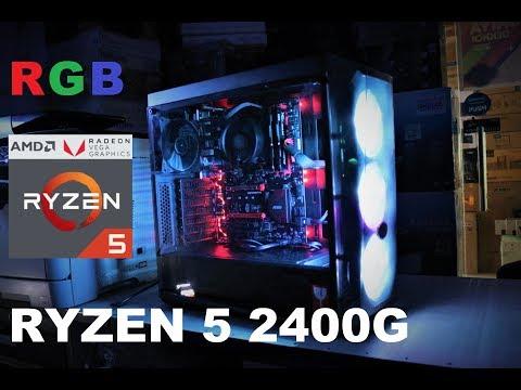 Ryzen 5 2400G PC Build   Budget 51K    Bios Updated !!
