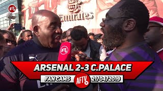 Arsenal 2-3 Crystal Palace | If We Play Like This We Won't Make Top 4! (Kenny Ken)