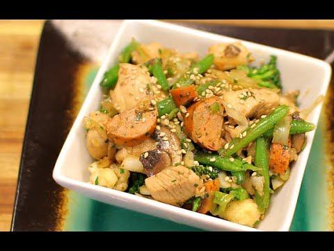 Keto Cabbage and Sausage Stir Fry - healthy recipe channel - keto recipe - low carb - ketones