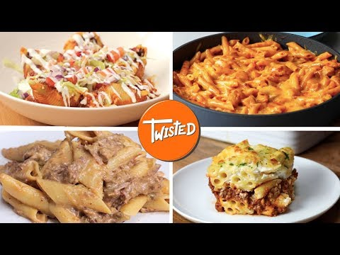 How To Make Cheesy Pasta 11 Ways  | Twisted
