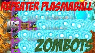 Download Plants vs Zombies 2 Epic Hack : The Ultra Repeater Giant Plasma Ball vs Each Freakin' Zombots Video