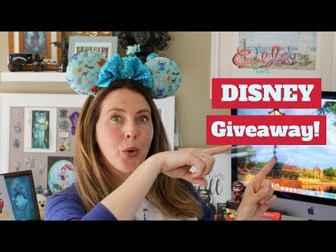 DISNEY Giveaway | 3000 Subscribers | THANK YOU!