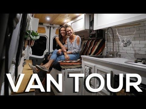 VAN LIFE TOUR | Eamon and Bec | Toronto Entrepreneurs Living in DIY Sprinter Van