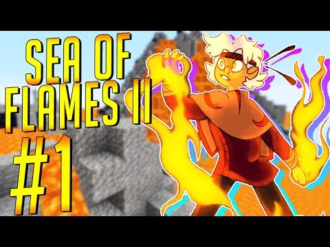 Minecraft Sea of Flames CTM Stream Highlights [1] - James and the Giant Creepers