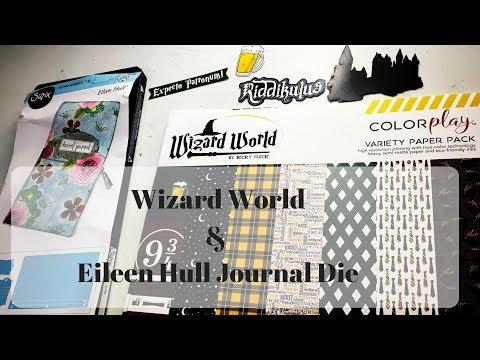 Wizard World & Eileen Hull Journal Die- Review~ Harry Potter Inspired Journal Series