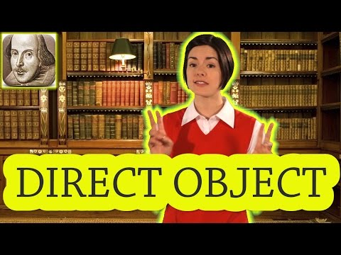 What is a Direct Object? English Grammar for Beginners | Basic English | ESL