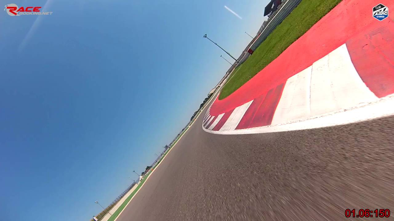 Misano Onboard 1.39.424 - Yamaha R1 Cup - Luca Pedersoli