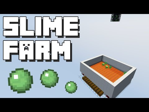 Minecraft: Fastest Slime Farm 1.10+ [WIth Spawner] [Also works with other Mobs]