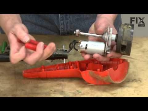 Black and Decker String Trimmer Repair - How to replace the Dowel Pin