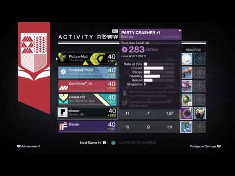 eltauro gets his first year 2 Party Crasher+1 with a DREAM ROLL