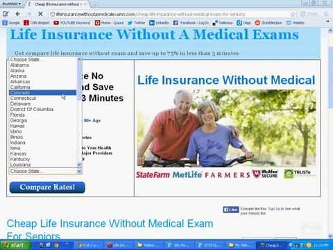 Cheap Life Insurance For Seniors Without Exam