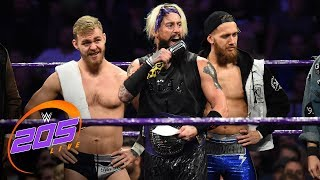 "Enzo Amore welcomes the U.K. Championship division to ""The Zo Show"": WWE 205 Live, Nov. 7, 2017"