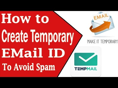 How to create Temporary Email Id to avoid Spam | Hindi