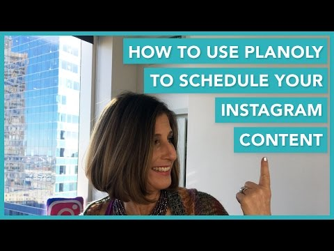 How To Use Planoly To Schedule Your Instagram Content