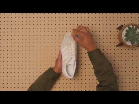 HOW TO CLEAN WHITE SNEAKERS WITH JASON MARKK: SUEDE