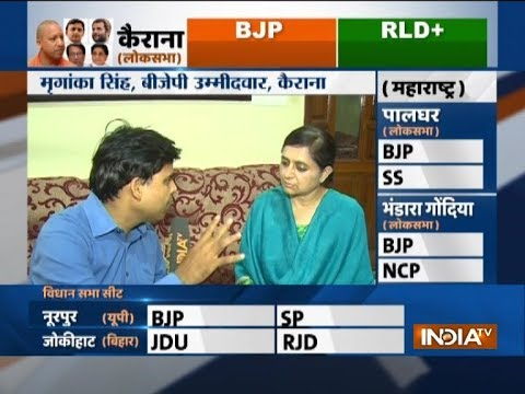 Lok Sabha Bypoll Results 2018: Early trends show BJP leading in UP's Kairana
