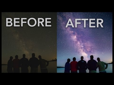 Milky Way Photography: Lightroom Tutorial - Basic Workflow