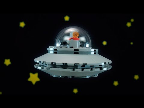 How to build an awesome Alien Spaceship - LEGO Creator 3in1 - Building Tips