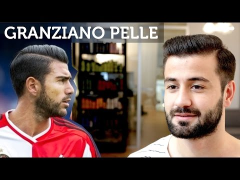 Graziano Pelle Hair | Football Player Hairstyle | Men's Short Hair Tutorial | Slikhaar TV