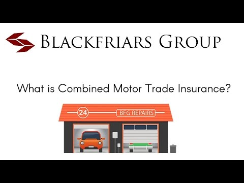 What is Combined Motor Trade Insurance?