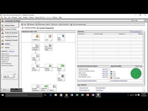 Introduction to Sage 50 Accounting Software (Problem 3A-1)
