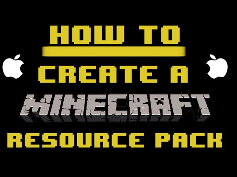 How To: Create Your Own Minecraft Resource Pack [1.8/1.8.8] [Mac]
